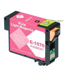 Cartouche d'encre Compatible EPSON T157620 (157) - Light Magenta