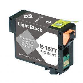 Cartouche d'encre Compatible EPSON T157720 (157) - Light BK
