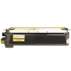 Cartouche Toner Laser Jaune Compatible Brother TN210Y