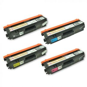 Ensemble de 4 Cartouches Laser Toner Compatible Brother TN315 Haut Rendement