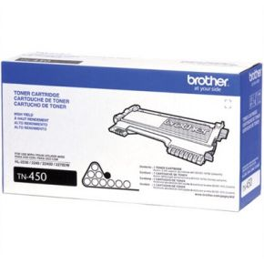 Cartouche Toner Laser Noir Originale Brother TN450 Haut Rendement - OEM
