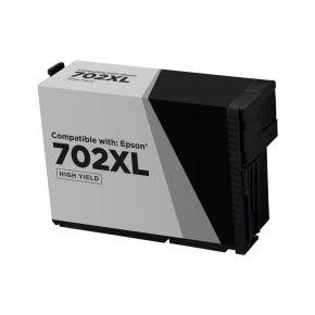Cartouche d'encre Noir Réusinée Epson 702XL (T702XL120) Haut Rendement