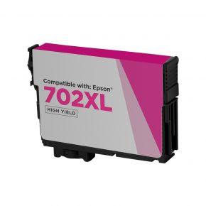 Cartouche d'encre Magenta Réusinée Epson 702XL (T702XL320) Haut Rendement