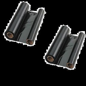 Rubban Noir Compatible Sharp UX-15CR (paquet de deux rouleaux)
