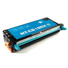Cartouche Toner Laser Cyan Réusinée Xerox 113R00723 Haut Rendement pour Imprimante Phaser 6180