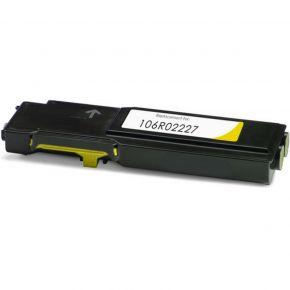 Cartouche Toner Laser Compatible XEROX 106R02227 - haute Capacité - Jaune