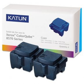 Encre Solide Cyan Compatible Xerox 108R00926 pour imprimante ColorQube 8570 (Ensemble de 2 cartouches)