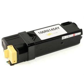 Cartouche Toner Laser Jaune Compatible Xerox 106R01454 pour Imprimante Phaser 6128MFP