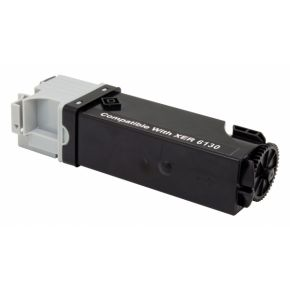 Cartouche Toner Laser Noir Compatible Xerox 106R01281 Haut Rendement pour Imprimante Phaser 6130