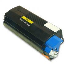 Cartouche Toner Laser Jaune Compatible Okidata 42127401 Haut Rendement