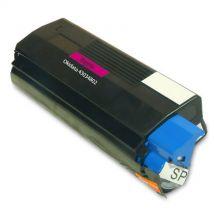 Cartouche Toner Laser Magenta Compatible Okidata 43034802 (Type C6) pour Imprimante C3100 & C3200 Series