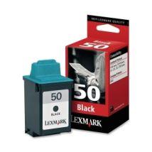 Cartouche d'encre Noir d'origine OEM Lexmark 17G0050 (#50)