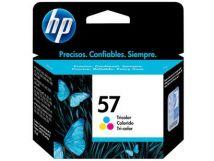 Cartouche d'encre Couleur d'origine OEM Hewlett Packard C6657AN (HP 57) Tricolore