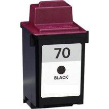 Cartouche d'encre Noir Réusinée Lexmark 12A1970 (#70)