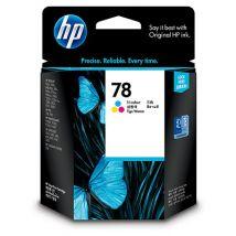 Cartouche d'encre Couleur d'origine OEM Hewlett Packard C6578DN (HP 78) Tricolore