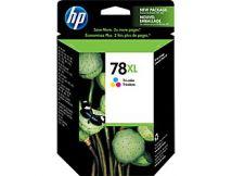 Cartouche d'encre Couleur d'origine OEM Hewlett Packard C6578AN (HP 78XL) Haut Rendement