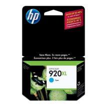 Cartouche d'encre Cyan d'origine OEM Hewlett Packard CD972AN (HP 920XL) Haut Rendement