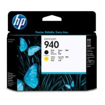 Tête d'impression Noir Jaune d'origine OEM Hewlett Packard C4900A (Printhead HP 940)