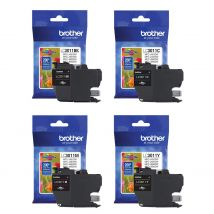 Brother LC3011 cartouches authentiques Value Pack