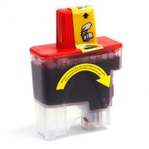 Cartouche d'encre Magenta Compatible Brother LC41M