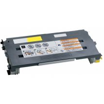 Cartouche Toner Laser Jaune Compatible Lexmark C500H2YG Haut Rendement pour Imprimante C500/X500
