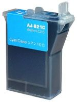 Cartouche d'encre Cyan Compatible Brother LC21C
