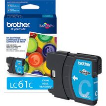 Cartouche d'encre Cyan d'origine OEM Brother LC61C