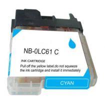 Cartouche d'encre Cyan Compatible Brother LC61C (Séries LC61)