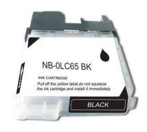 Cartouche d'encre Noir Compatible Brother LC65BK Haut Rendement (Séries LC65)