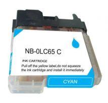 Cartouche d'encre Cyan Compatible Brother LC65C Haut Rendement (Séries LC65)
