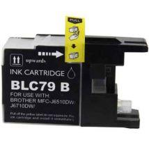 Cartouche d'encre Noir Compatible Brother LC79BK Extra Haut Rendement (Séries LC79)