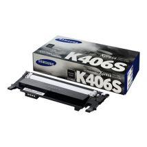 Cartouche Toner Laser d'origine OEM Samsung CLT-K406S Noir