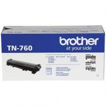 Cartouche Toner Laser Noir Originale Brother TN760 Haut Rendement - OEM