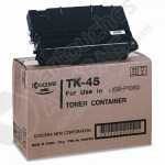 Cartouche Toner Laser Noir d'origine OEM Kyocera Mita TK-45 (TK45) pour Imprimante KM-F1050