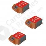 Cartouche d'encre Couleur Compatible Canon BCI11Clr (BCI11C) (Ensemble de 3 cartouches)