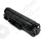 Cartouche Toner Laser Noir Réusinée Hewlett Packard CB435A 35A