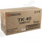 Cartouche Toner Laser Noir d'origine OEM Kyocera Mita TK-40 (TK40)