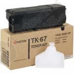 Cartouche Toner Laser Noir d'origine OEM Kyocera Mita TK-67 (TK67)