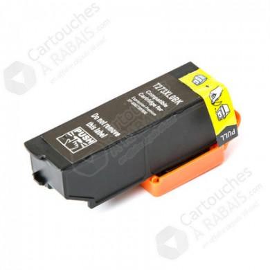 Cartouche d'encre Compatible EPSON T273XL020 - Haut Rendement - Noir